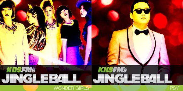 Wonder Girls & Psy added to star-studded lineup of KIISFM's 'Jingle Ball'