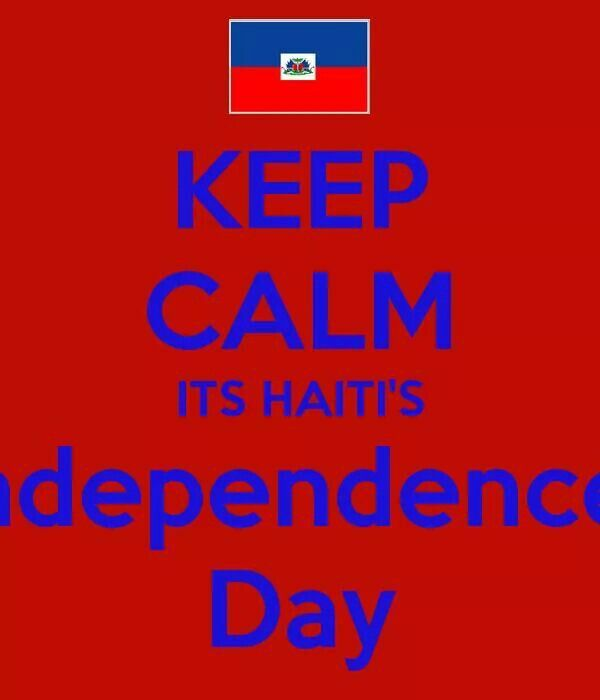 Happy Haitian Independence day  !