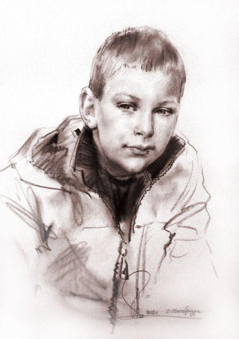 Набросок с натуры © Алексей Точин @alextochin бумага, сепия (в карандаше) 40/50 см. 2012 #alextochin #портретназаказ #portraitpainter http://alextochin.com/photo/1-0-306