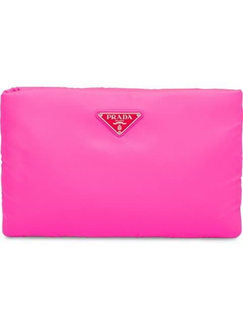 on sale online popular brand 100% genuine Prada Neon Pink Medium Padded Clutch in 2019 | fashion ...