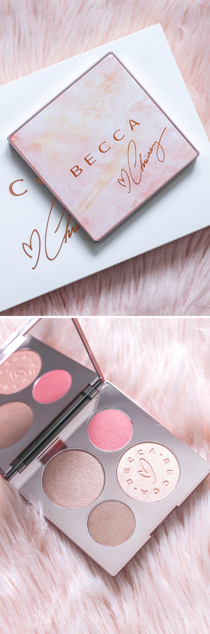 Becca Chrissy Teigen Palette Review | Becca x Chrissy Teigen Glow Face Palette | Makeup Review