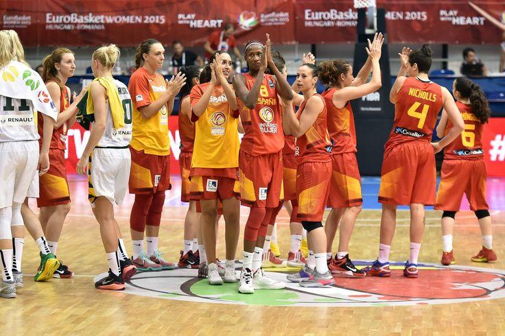 Eurobasket 2015 - Selección (Foto Facebook.com/FIBA)