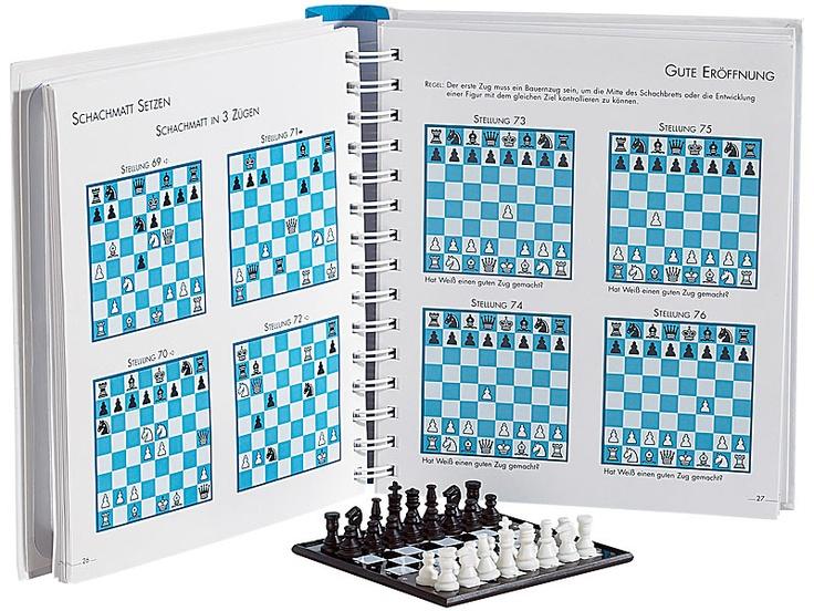 spielen denken lernen schach reise magnetschach buch. Black Bedroom Furniture Sets. Home Design Ideas