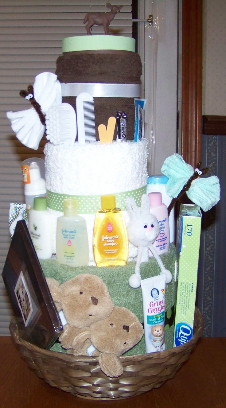 Baby Gifts Ideas Pinterest : Baby set gift ideas towel cakes cake and babies