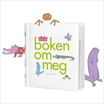 Den Beste Boken Om Meg. En nydelig bok å registrere alle de spesielle øyeblikkene i baby og smabårns sitt liv. Kr 150
