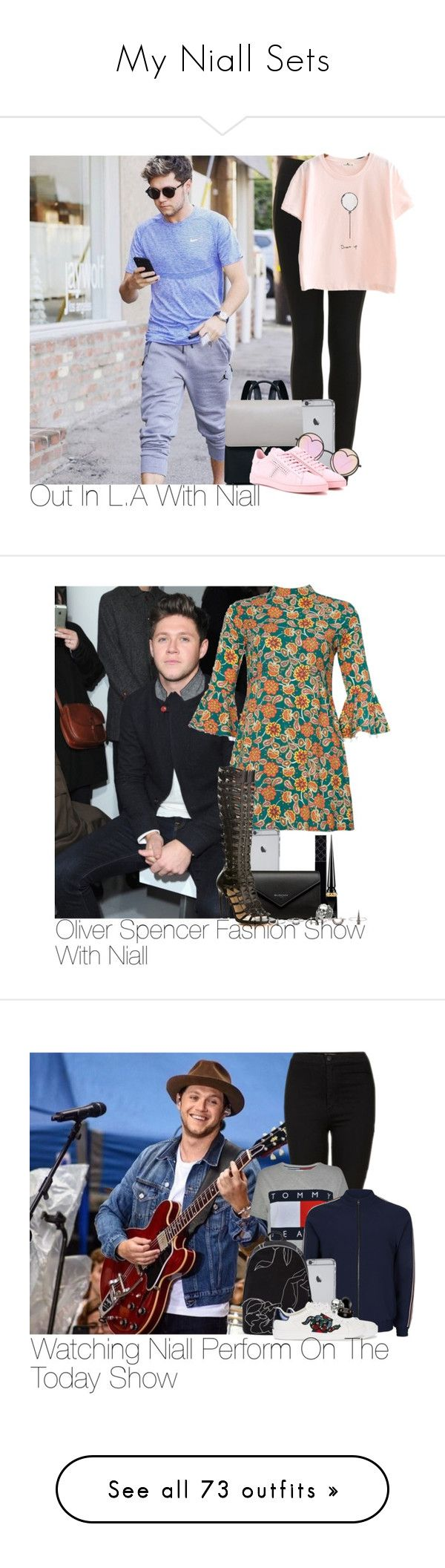 """My Niall Sets"" by lauren-beth-owens ❤ liked on Polyvore featuring Topshop, Betsey Johnson, Tod's, NiallHoran, Gucci, Balenciaga, Paul Andrew, Christian Louboutin, Ugo Cacciatori and Luv Aj"