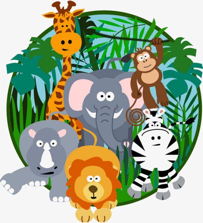 Cartoon Jungle, Jungle Clipart, Cartoon Clipart, Cartoon PNG ...