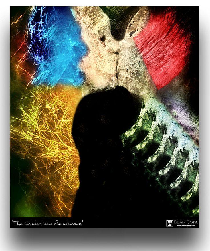 """The Underlined Rendezvous"" 2015 by Dean Copa. New Techniques // Instagram : http://www.instagram.com/dean_copa #DeanCopa #modernart #contemporaryart #fineart #finearts #artoftheday #artdiary #kunst #art #artcritic #artlover #artcollector #artgallery #artmuseum #gallery #contemporaryartist #emergingartist #ratedmodernart #artspotted #artdealer #collectart #contemporaryart"