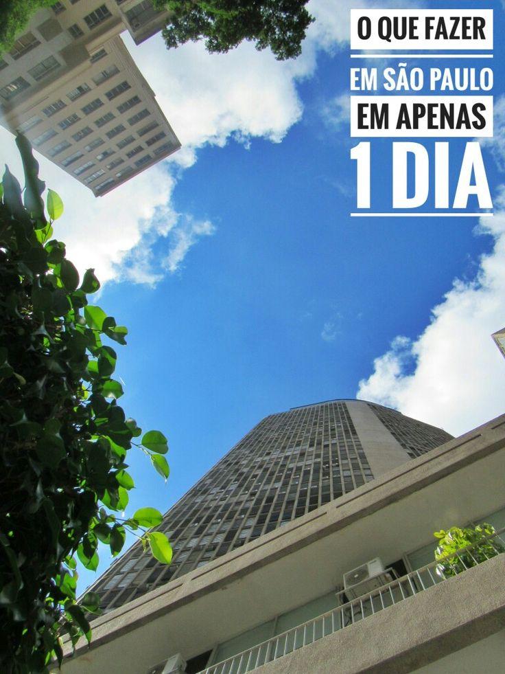 Se você, assim como eu, tem apenas 1 dia para conhecer São Paulo, esse artigo te ajudará bastante. São Paulo é a maior cidade da América do Sul e oferece inúmeras atrações turísticas, eventos culturais, shows, restaurantes e opções de compras, por isso para te ajudar a aproveitar o melhor do seu dia turistando em Sampa, preparamos algumas dicas do que fazer pela cidade.