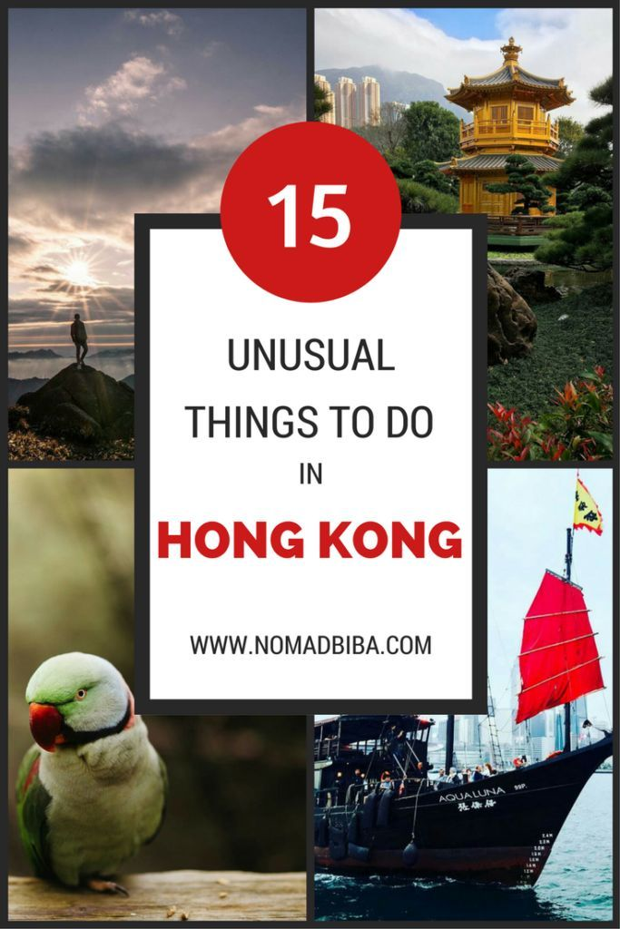Check these Unusual Things to Do in Hong Kong and go off the beaten path!