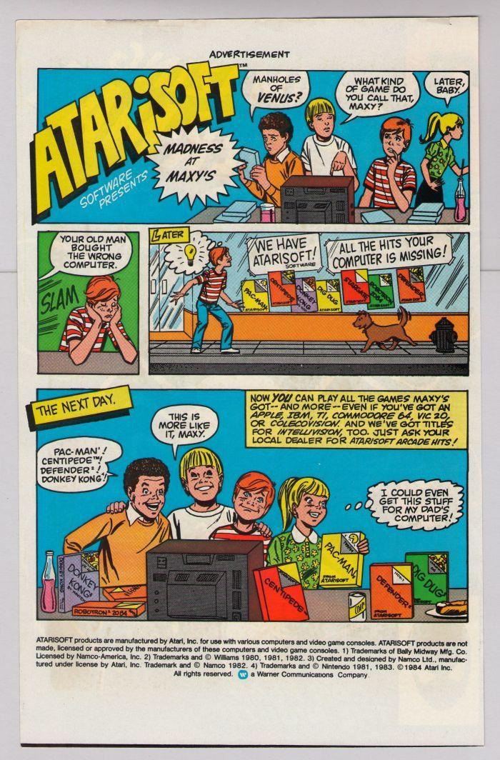 1980s atari ads Atarisoft '80s Atari computer games