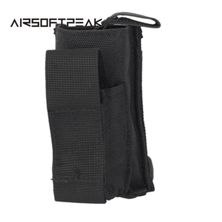 Outdoor Single Pistol Magazine Pouch Hiking Tacitical Military Flashlight Bag Mobile Phone Pouch Case Wallet Holder