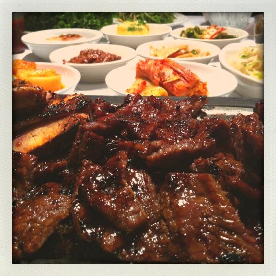 Korean feast | NomNoms | Pinterest