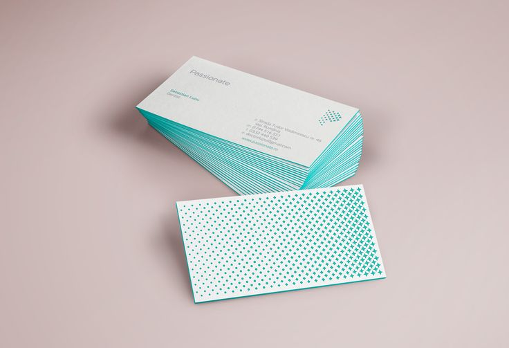 Passionate - Business Cards