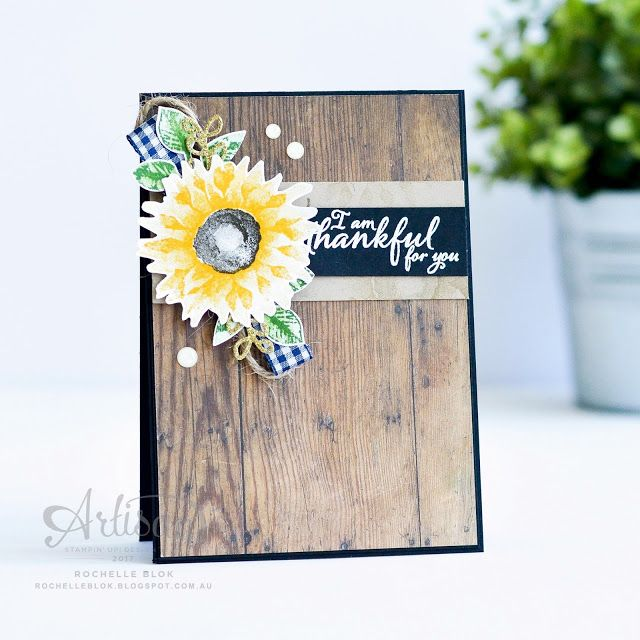 The Stamping Blok Stamp Review Crew | Stampin' Up! Painted Harvest | Rochelle Blok
