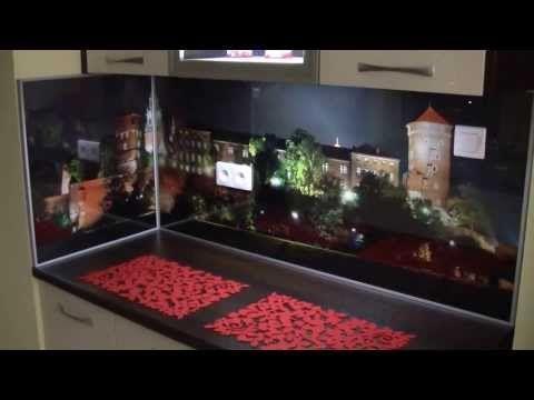 Oświetlenie LED do kuchni - aranżacja kuchni - nowoczesne kuchnie - lampy LED do kuchni LED - YouTube