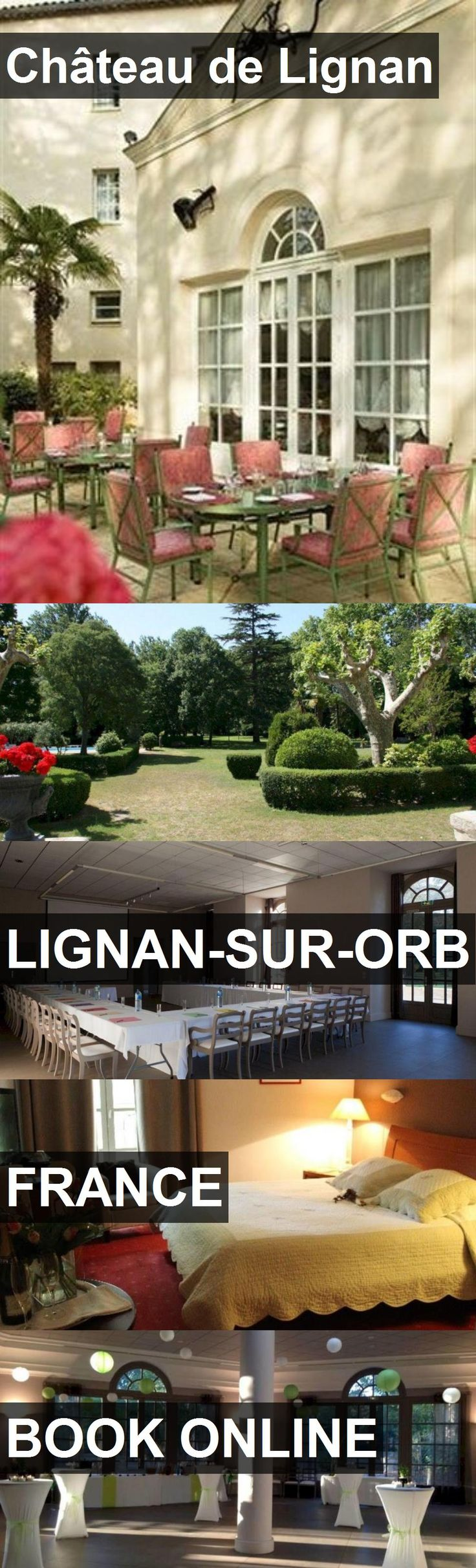Hotel Château de Lignan in Lignan-sur-Orb, France. For more information, photos, reviews and best prices please follow the link. #France #Lignan-sur-Orb #travel #vacation #hotel