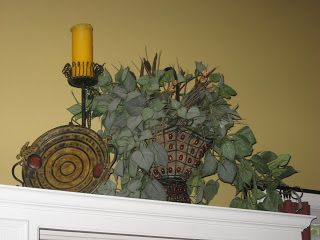 decorating above kitchen cabinets | ... Decorating: What about that space above my kitchen cabinets