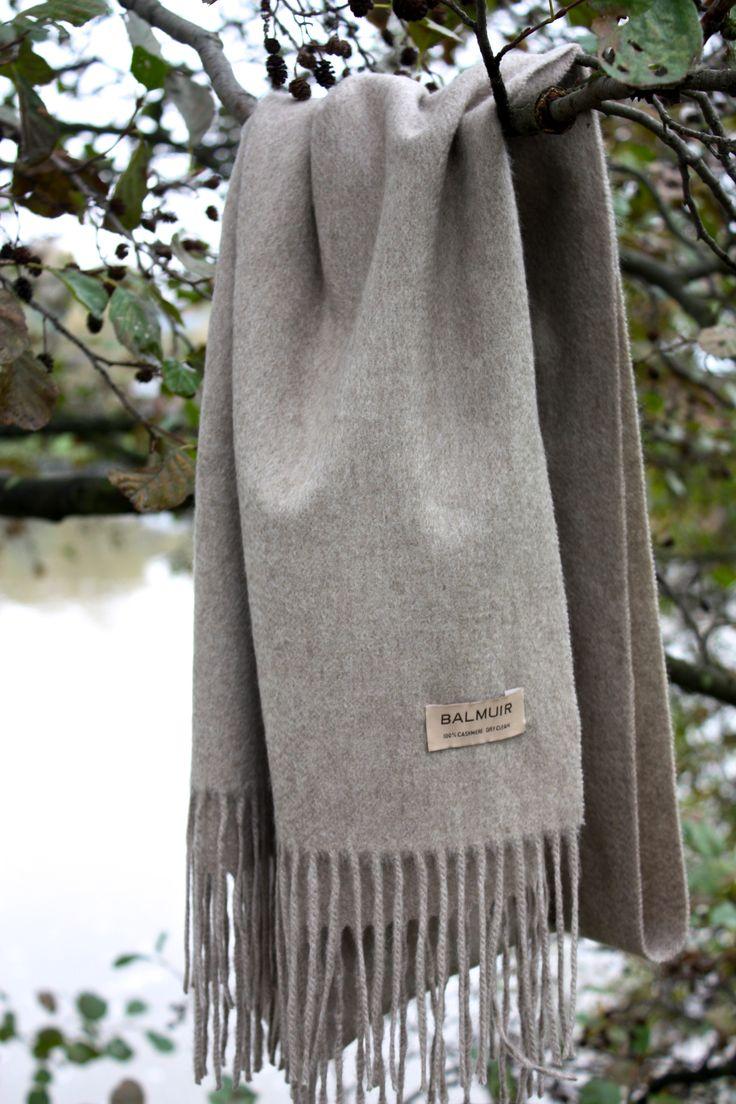 homevialaura | autumn | fall | Balmuir Highland scarf in Sand | cashmere scarf www.balmuir.com/shop