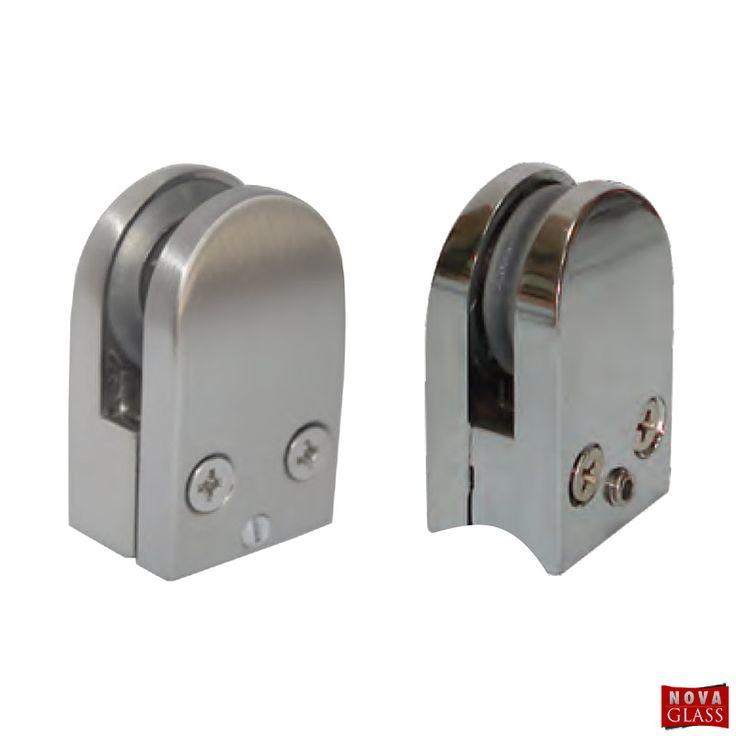 Στήριγμα διαιρούμενο ημικυκλικό για 5-8 mm Κωδ. 5686   Nova Glass e-shop