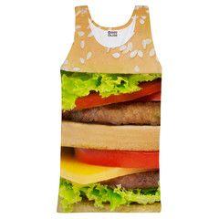Hamburger tank-top