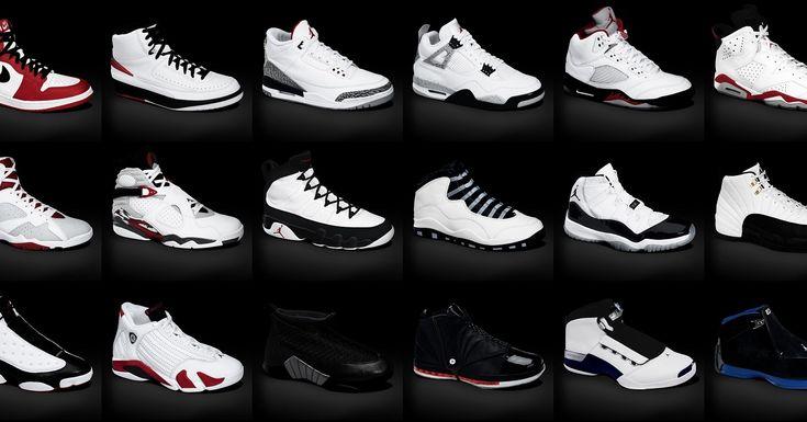 all types of air jordan shoes