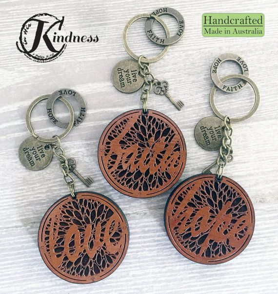 ~ Each engraved piece is 50x6mm and has been stained and finished.  ~ Small charms and symbols adorn each piece, adding to its charm & appeal.  ~ Fantastic gift ideas that also help support an orphanage in Nepal & widows in Taiwan.  ~ Small but full of inspiration