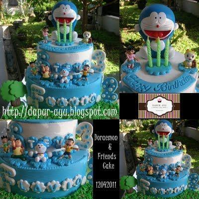 Dapur Ayu @: Doraemon Cake Flavio dan Steve
