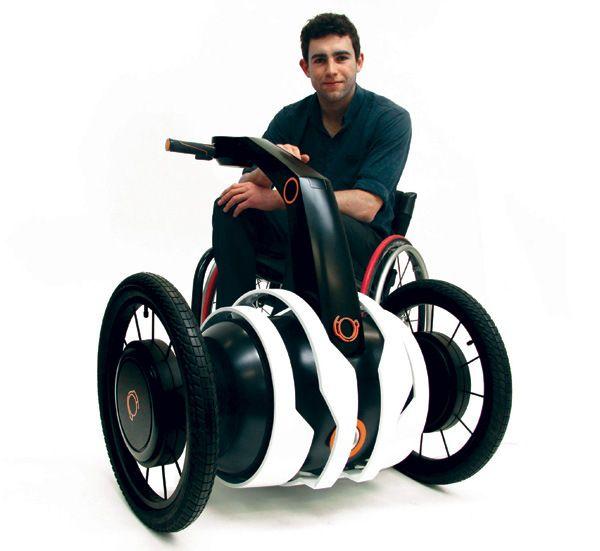 Un assistant électrique pour fauteuil roulant