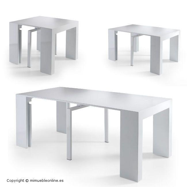 10 best mesas plegables para salon images on pinterest for Mesa consola ikea
