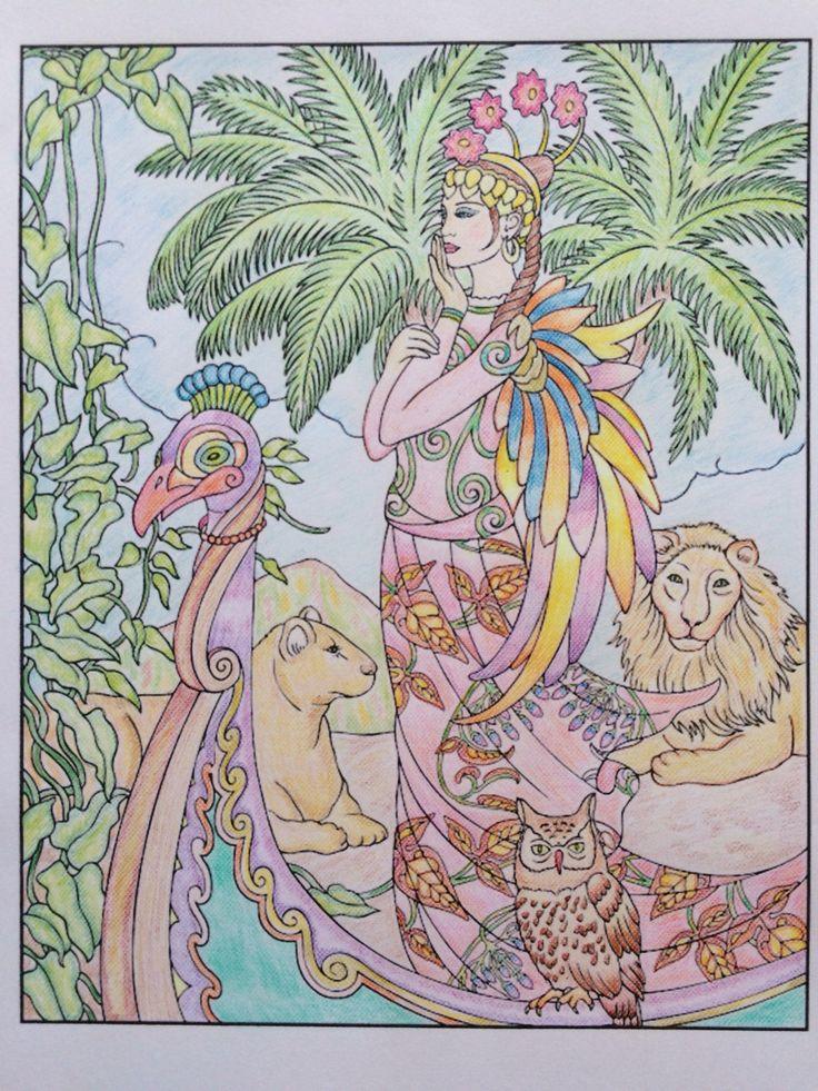 Savannah, princess, lions