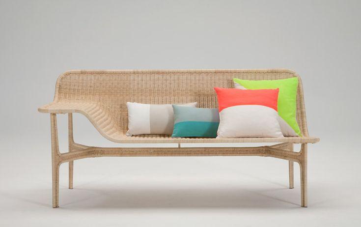 hiroomi tahara: relation rattan sofa