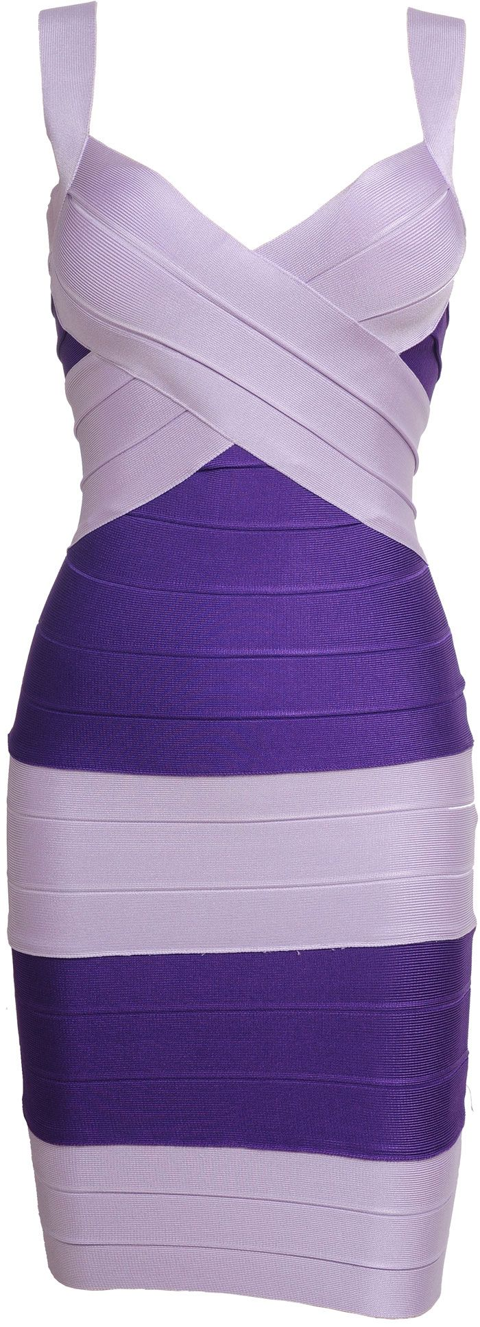 Beautiful! 'Victoria' Purple and Silver Cross Over Tank Body Con Dress, Celeb Boutique. !