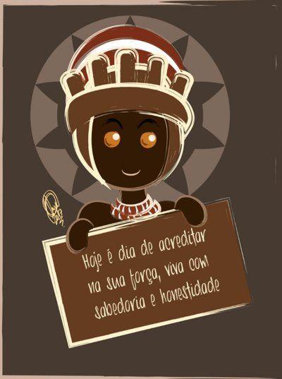 Xango Mensagem by Oradine.deviantart.com on @DeviantArt