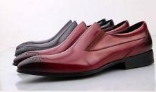 Ручной работы Мокасины мужские из натуральной кожи туфли Оксфорд Wingtip платье для официальных приемов туфли