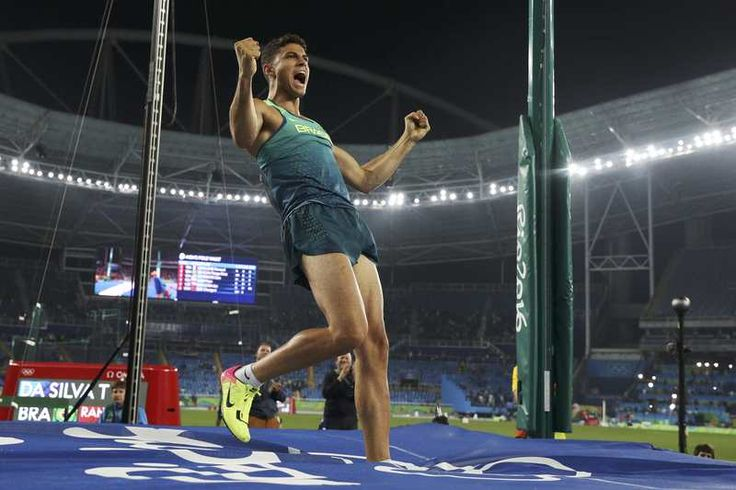 Brazilian Da Silva soars to dramatic pole vault gold:  August 16, 2016  -     Brazilian Thiago Da Silva won the Olympic pole vault gold medal in dramatic fashion on Monday to give the host country its first athletics gold medal of the Games.