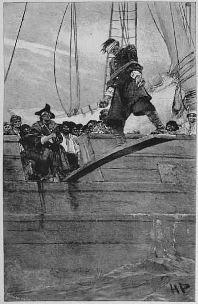 Piratas dos Sete Mares: Maio 2010: Planks, Howard Pyle S, Walking The Plank, Yo Ho, Pirates Life, Howardpyle, Pirate Life