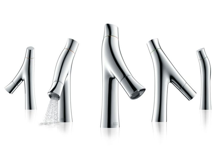 Organic tap by Philippe Starck for Axor