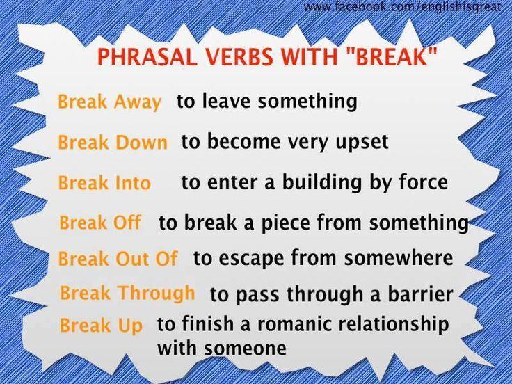#phrasalverbs in #English