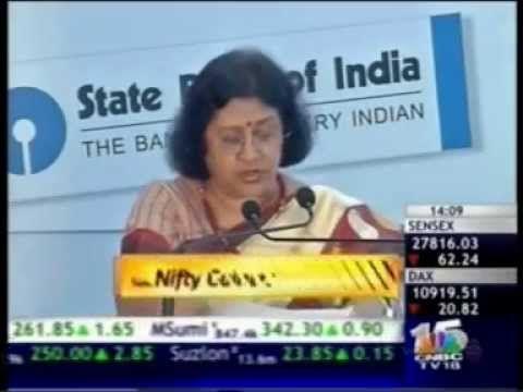 SBI Chairman Ms. Arundhati Bhattacharya speaks at the 2nd Banking and Ec... #BankerToDigitalIndia