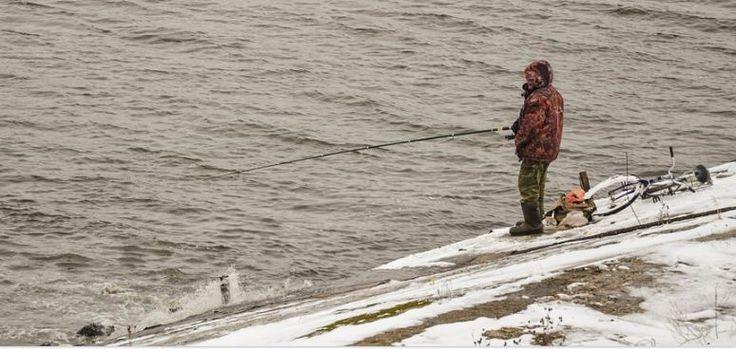 Fishing Hot Spots Around Helen, GA  Layer-up, take your favorite rod and go 'cold weather #fishing!' #HelenGA #WinterFishing #NorthGeorgiaMountains