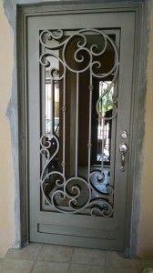 Puertas Principales Herreria Artistica Puertas De Metal Diseno De Puerta De Hierro Modelos De Ventanas