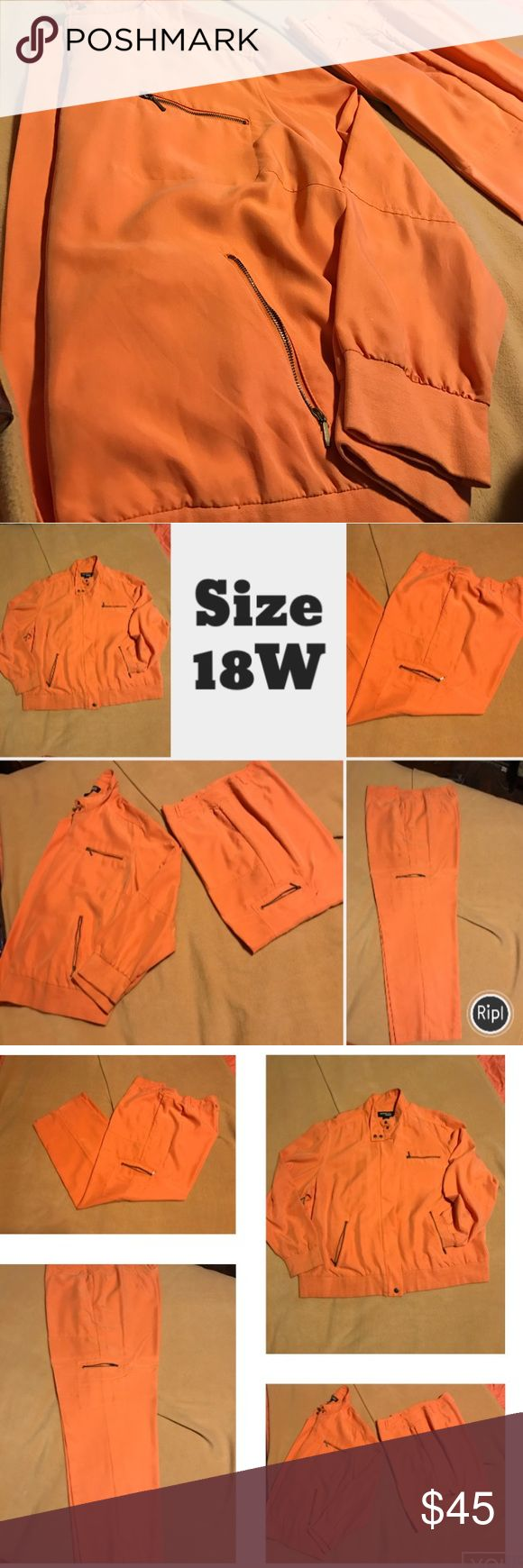 Vintage Cool feeling Rayon pants Suit Size 18W light, cool versatile pants suit. Where it with cute sneakers or Pumps! Very soft feeling and flowy! Norton Studio Woman Pants Track Pants & Joggers