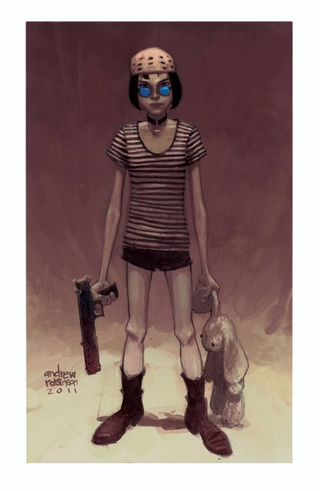 Leon The Professional - Mathilda by Andrew Robinson