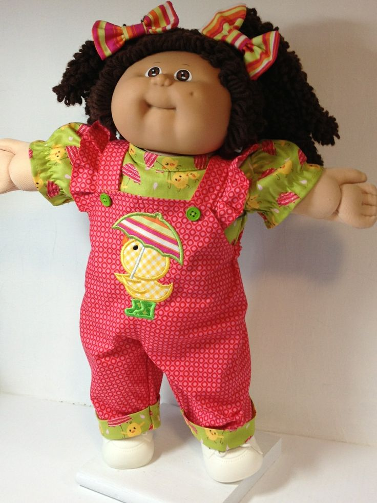 Cabbage Patch Overall Umbrella Chick
