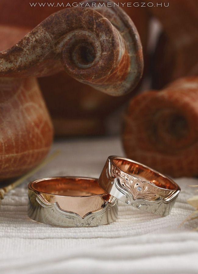 Firhang - karikagyűrű - wedding ring - www.magyarmenyegzo.hu