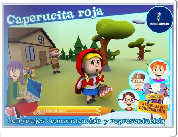 """Caperucita roja"" (Actividad interactiva de comprensión lectora de Infantil)"