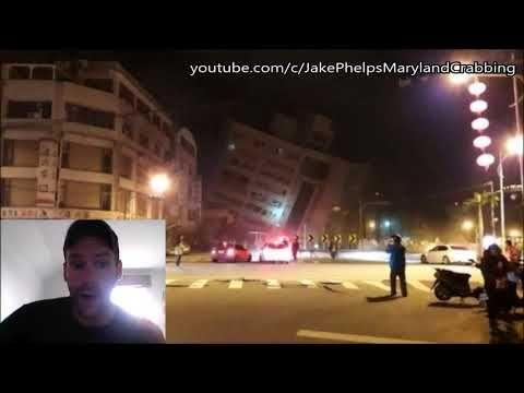 Earthquake Today Taiwan - Huge - Breaking Video
