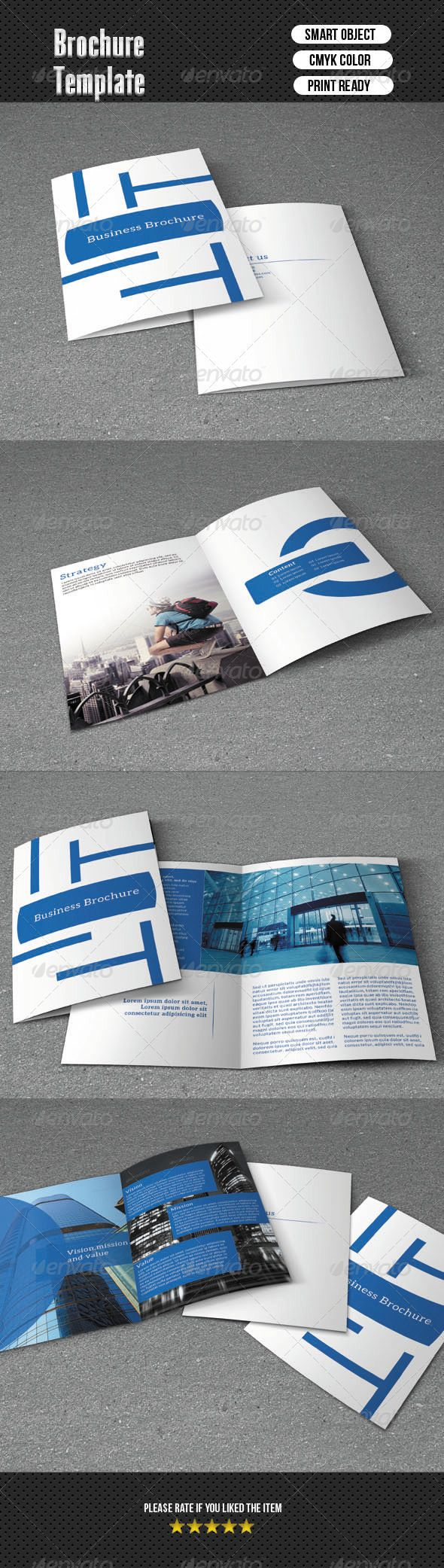 Bifold Beauty Salon Brochure-V07 | Psd Templates, Brochures And Ecommerce  Logo