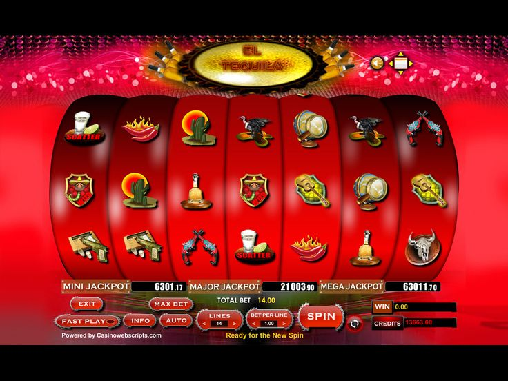 Buy Video Slot game for Online Casino - El Tequila 2 Video Slot Game
